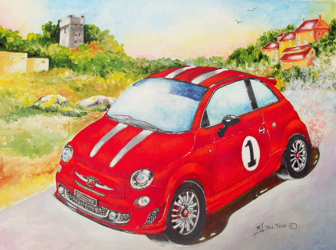 Fiat Abarth finished