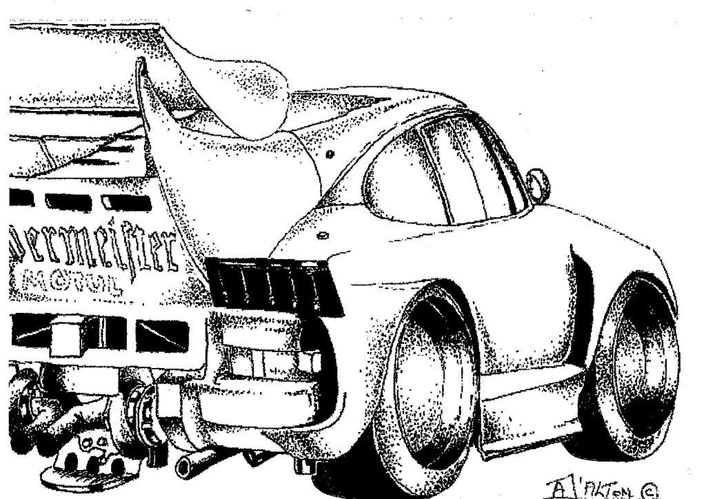 Porsche Jagermeister